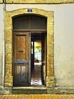 Weathered Doorway III Fine-Art Print