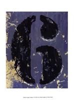 Vintage Numbers VI Fine-Art Print