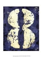 Vintage Numbers VIII Fine-Art Print