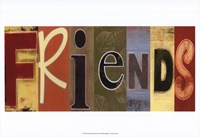 Friends Panel Fine-Art Print