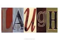 Laugh Panel Fine-Art Print