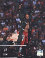 Edge Wrestlemania 26 Action Fine-Art Print