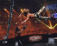 Shawn Michaels Wrestlemania 26 Action Fine-Art Print