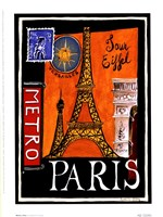 Metro, Paris Fine-Art Print