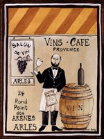 Salon De Vin Fine-Art Print