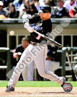Adam Lind batting 2010 Action Fine-Art Print