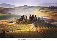Belvedere Sunrise Tuscany Fine-Art Print