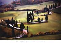Strada Per Monticchiello Fine-Art Print