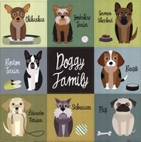 Doggy Family Fine-Art Print