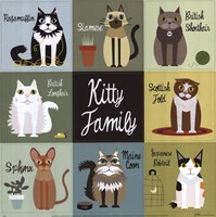 Kitty Family Fine-Art Print