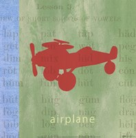 Vintage Toys Airplane Fine-Art Print