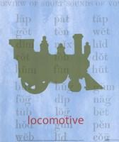 Vintage Toys Locomotive Fine-Art Print