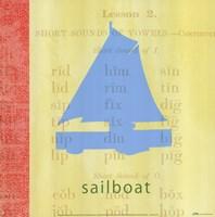 Vintage Toys Sailboat Fine-Art Print