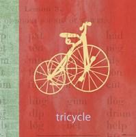 Vintage Toys Tricycle Fine-Art Print