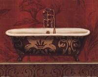 Royal Red Bath I Fine-Art Print