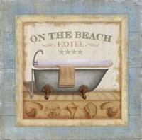 Beach Hotel I Fine-Art Print