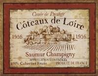 French Wine Labels II Fine-Art Print