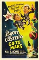 Abbott and Costello Go to Mars, c.1953 Fine-Art Print