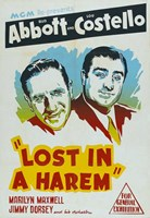 Abbott and Costello, Lost in a Harem, c.1944 Fine-Art Print