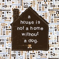 A House is not a Home Fine-Art Print