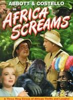 Abbott and Costello, Africa Screams, c.1949 style B Fine-Art Print