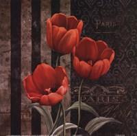 Paris Fleurs I Fine-Art Print