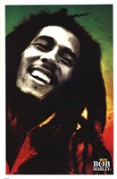 Bob Marley - Paint Wall Poster