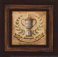 Golf Champion - petite Framed Print