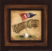 Golf Country Club - petite Fine-Art Print