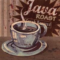 Coffee Brew Sign II - petite Framed Print