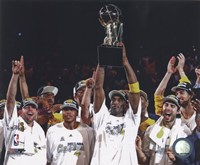 Los Angeles Lakers 2009-10 NBA Finals Team Celebration (#22) Fine-Art Print