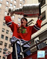Patrick Kane Chicago Blackhawks 2010 Stanley Cup Champions Victory Parade (#50) Fine-Art Print
