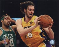 Pau Gasol - 2010 NBA Finals Action Game 6 (#17) Fine-Art Print