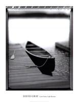 Lone Canoe, Lake Rosseau Fine-Art Print