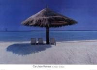 Cerulean Retreat Fine-Art Print