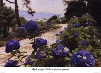 Hydrangea Path Fine-Art Print