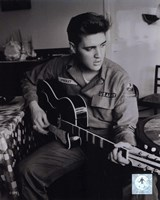 Elvis Presley wearing US Army jacket (#2) Fine-Art Print