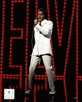 Elvis Presley Wearing White Suit (#5) Fine-Art Print