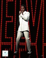 Elvis Presley Wearing White Suit (#5) Fine-Art Print