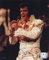 Elvis Presley Wearing a Rhinestone Jacket (#6) Fine-Art Print