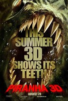 Piranha 3D Wall Poster