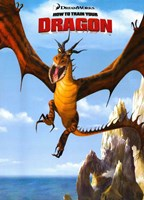 How to Train Your Dragon - Style E Wall Poster