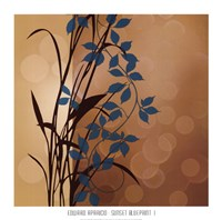 Sunset Blueprint I Fine-Art Print