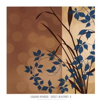 Sunset Blueprint II Fine-Art Print