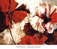 Dancing in Crimson Fine-Art Print