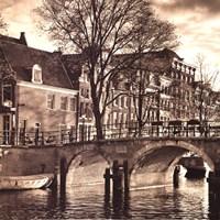 Autumn in Amsterdam II Fine-Art Print
