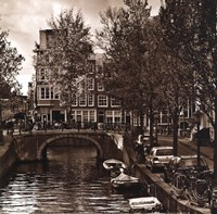 Autumn in Amsterdam IV Fine-Art Print