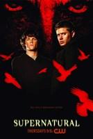 Supernatural (TV) Black and Red Fine-Art Print