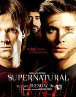 Supernatural (TV) Sam Dean & John Winchester Fine-Art Print