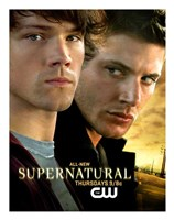 Supernatural (TV) Sam & Dean Winchester Fine-Art Print